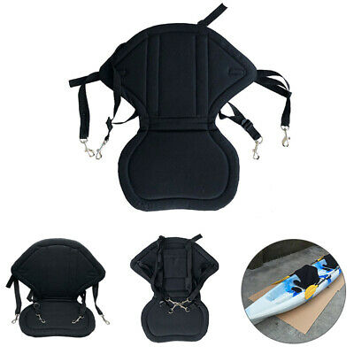 Deluxe Kayak Seat Adjustable Sit On Top Canoe Back Rest Support Safety UK