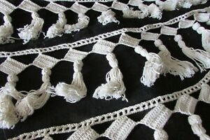 Beautiful-Antique-French-1920s-Hand-Crafted-Bobble-Tassel-Trim-8ft-1-034