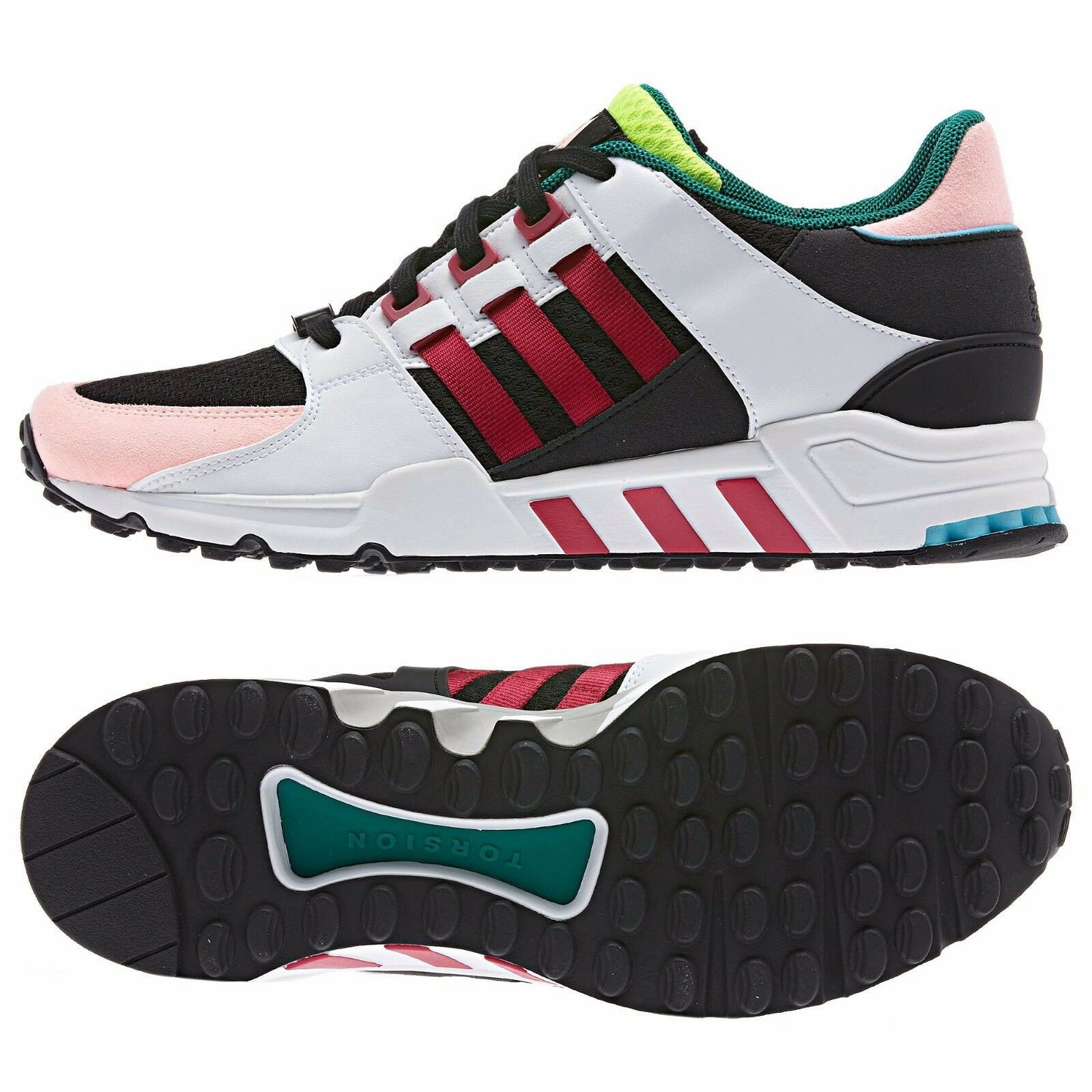 Adidas EQT '93 Equipment Running Support Oddity D67723 Black/White/Red Men Shoes
