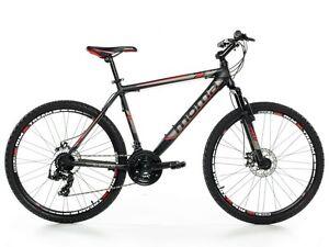 Bicicletta-Montagna-Mountain-Bike-26-034-MTB-Alluminio-Shimano-24V-2xDisco-Sosp