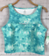 DECREE JUNIOR/'S CLOUD SCUBA CROP TOP TANK NWT $26 SIZE LARGE FITS SIZE 11-13