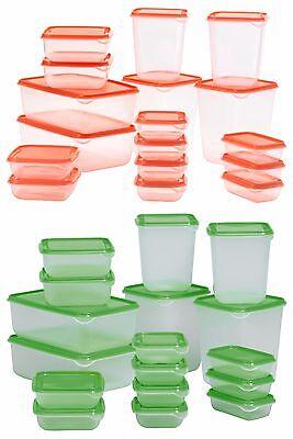 Pruta plastique alimentaire conteneur de stockage sous vide Seal Set de 17 IKEA