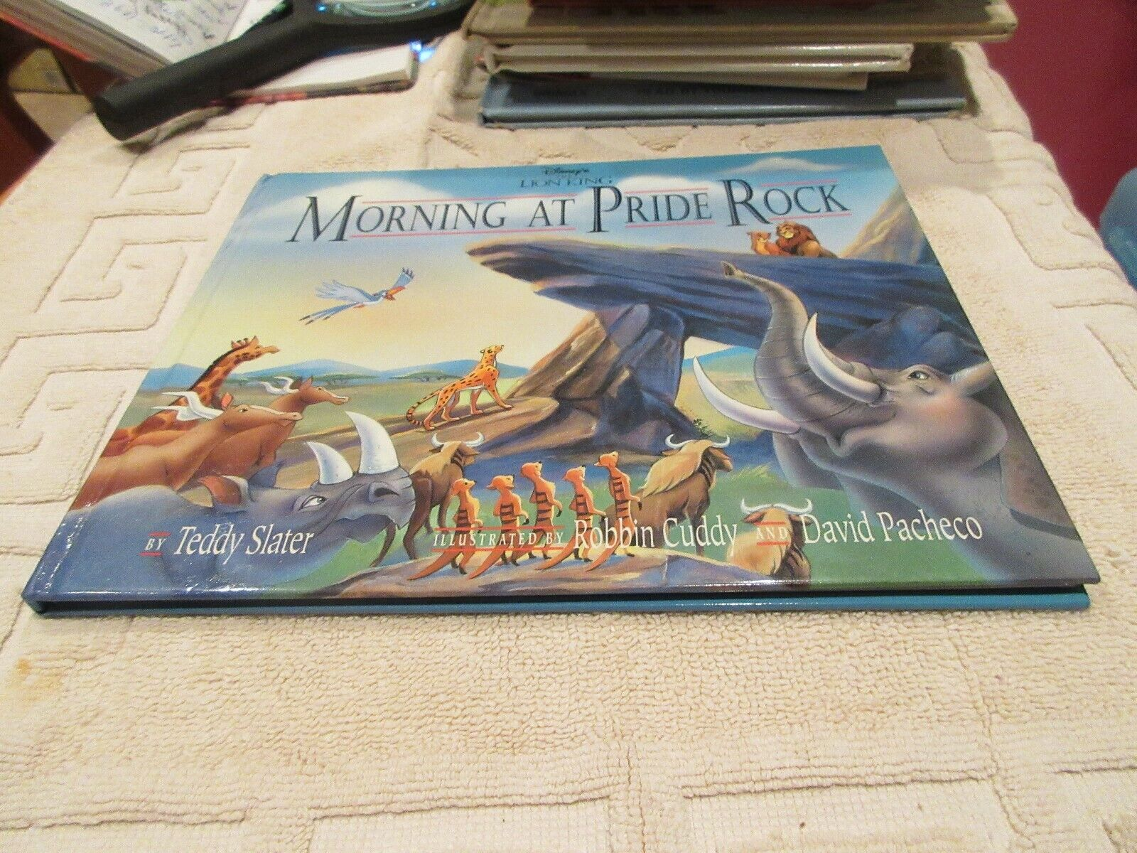 Disney's The Lion King : Morning at Pride Rock by Teddy