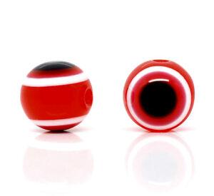 Pinji Housse de Protection pour Tabouret Rond 28-33cm Protecteur de Tabouret Rouge