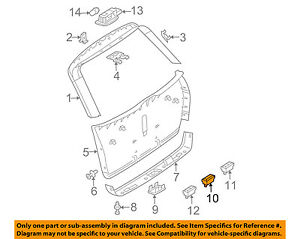 image is loading mercedes-oem-gl450-liftgate-tail-tailgate-trunk-switch-