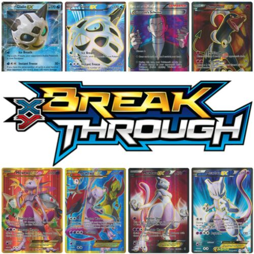 NEW POKEMON XY BREAKTHROUGH CARDS INDIVIDUAL CARDS MINT