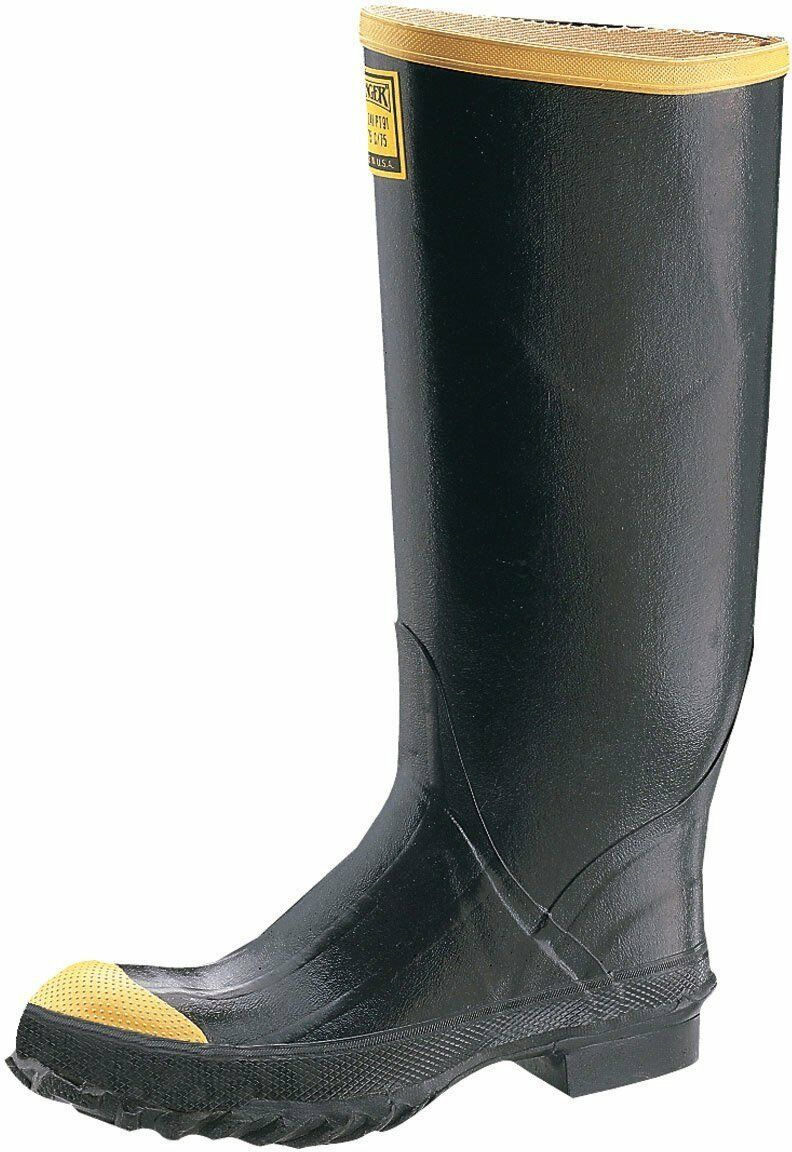Scarpe casual da uomo  Ranger Steel Toe Rubber Safety High Boot - Size 8