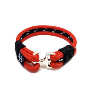 Anchor-Bracelet-Nautical-Rope-Bracelet-Sailing-Mens-Womens-Handmade-RED-BLACK