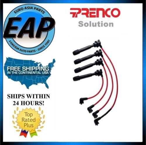 For Elantra Tiburon Tucson Soul Spectra Sportage Ignition Spark Plug Wire Set