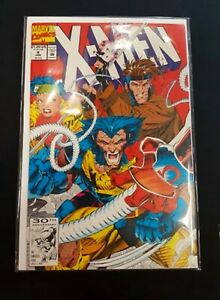 X-MEN-4-1991-Newsstand-1st-app-of-OMEGA-RED-1st-app-of-MAVERICK-FENRIS