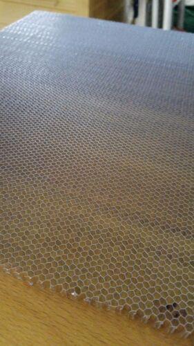 Wabengitter Aluminium Wabenplatte 500x300mm 6,5mm Waben Honeycomb CO2 Laser