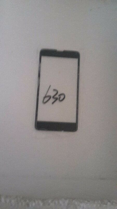 replacement front outer glass lens for nokia 630