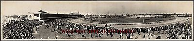 "1940 Kentucky Derby, Churchill Downs Vintage Panoramic Photograph 32"" Long"