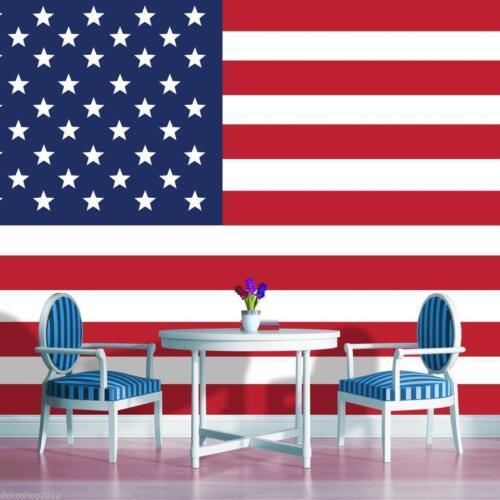 Fleece Photo Wallpaper Photo Wallpaper Mural Wallpaper Photo USA America America Flag 479ve