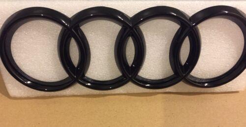 94mm di alta qualità A4 nero lucido anteriore griglia Badge Logo Anelli 273mm AUDI TT