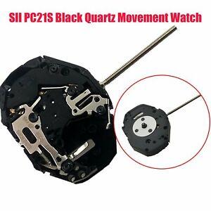 Per-SEIKO-SII-PC21S-nero-movimento-al-quarzo-Orologio-Ricambi-Accessori