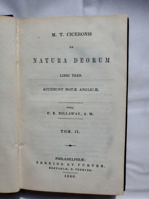 M. T. Ciceronis de Natura Deorum