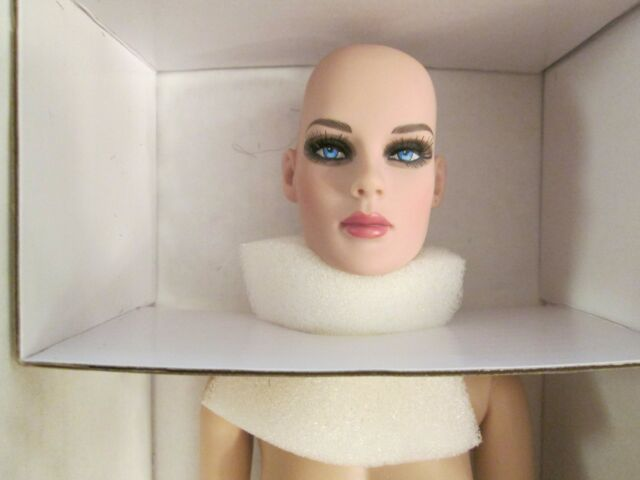 PRECARIOUS BRIGHT WHITE BASIC NUDE BALD Tonner DOLL Antoinette NO STAND