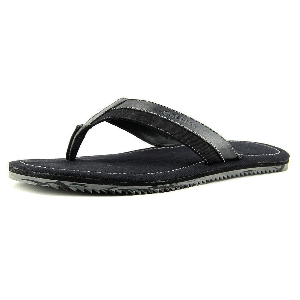 Cole Haan Meyer Men'sThong Sandals, Size 7M, Black