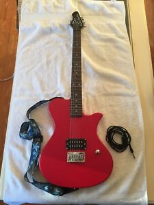Image Is Loading First Act Solid Body Electric Guitar Me538 With