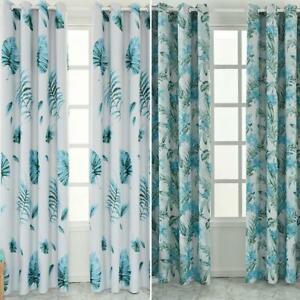 living room drapes and curtains decorated navy blue image is loading blackoutcurtainstropicalprintlivingroom bedroomwindow blackout curtains tropical print living room bedroom window drapes