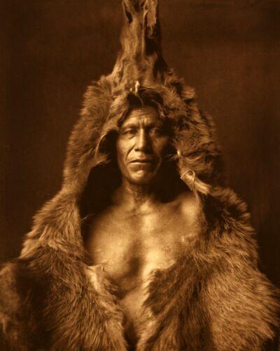 Bear/'s Belly Edward Curtis Native American Photo Arikara