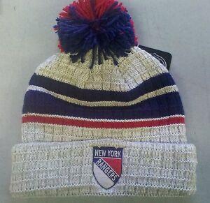 New-York-Rangers-Knit-Beanie-Toque-Winter-Hat-Skull-Cap-Winter-Classic-Cuffed