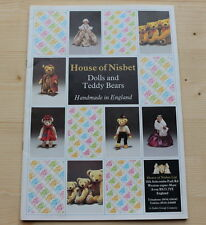 HOUSE OF NISBET ... Dolls and Teddy Bears ... Handmade in England ... Sortiment