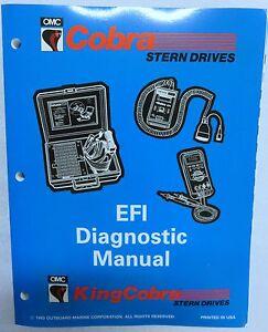 1994 omc king cobra stern drive service repair manual efi diagnostic rh ebay ie omc king cobra service manual King Cobra OMC Shift Cable