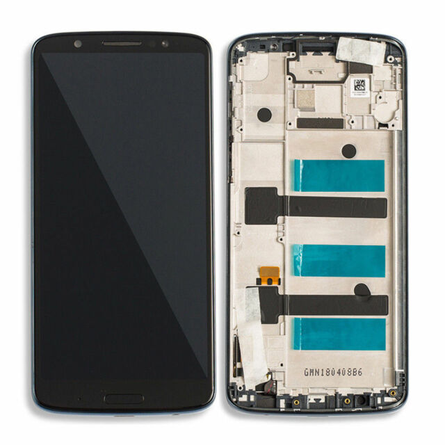 For Motorola Moto G6 Plus LCD Touch Screen Digitizer Display Assembly Frame  US