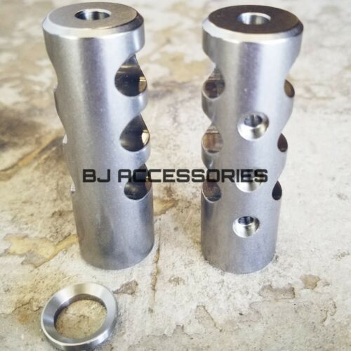 Ruger 10//22 Stainless Steel Muzzle Brake Compensator Ruger 1022 Charger American