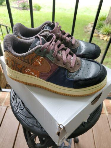 Nike Air Force 1 size 2y Travis Scott