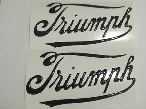 ADESIVO-RESINATO-STIKERS-3D-SCRITTA-SERBATOIO-TRIUMPH-1907-OLD-TUTTI-I-COLORI