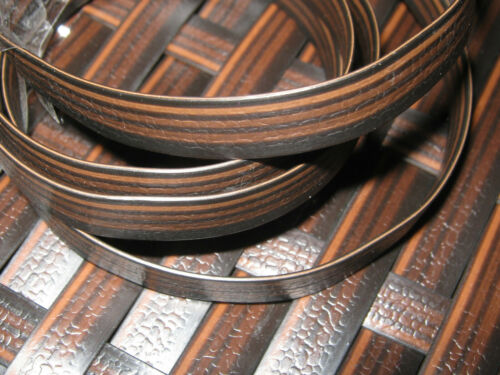 1m Replacement Wicker Repair Rattan Braid MIX BROWN Double Face