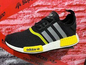 Adidas Originals NMD R1 Black Yellow