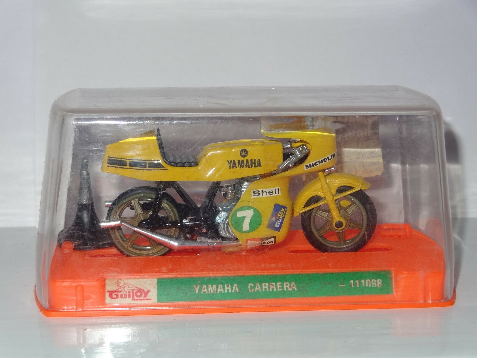 GUILOY SPAIN YAMAHA CARRERA MOTORCYCLE