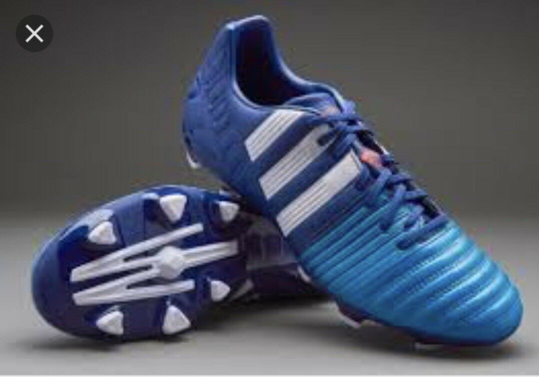 Adidas Mens Nitrocharge 3.0 Firm Ground Soccer Cleat Blue And White Comfortable Seasonal clearance sale
