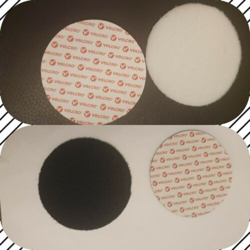 Velcro Self Adhesive Hook And Loop Large Coins Discs Pads Dots 120mm Circle