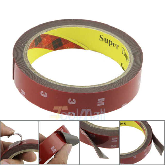 3M//Roll Car Acrylic Plus Double Sided Attachment Tape Automotive Auto Truck Van