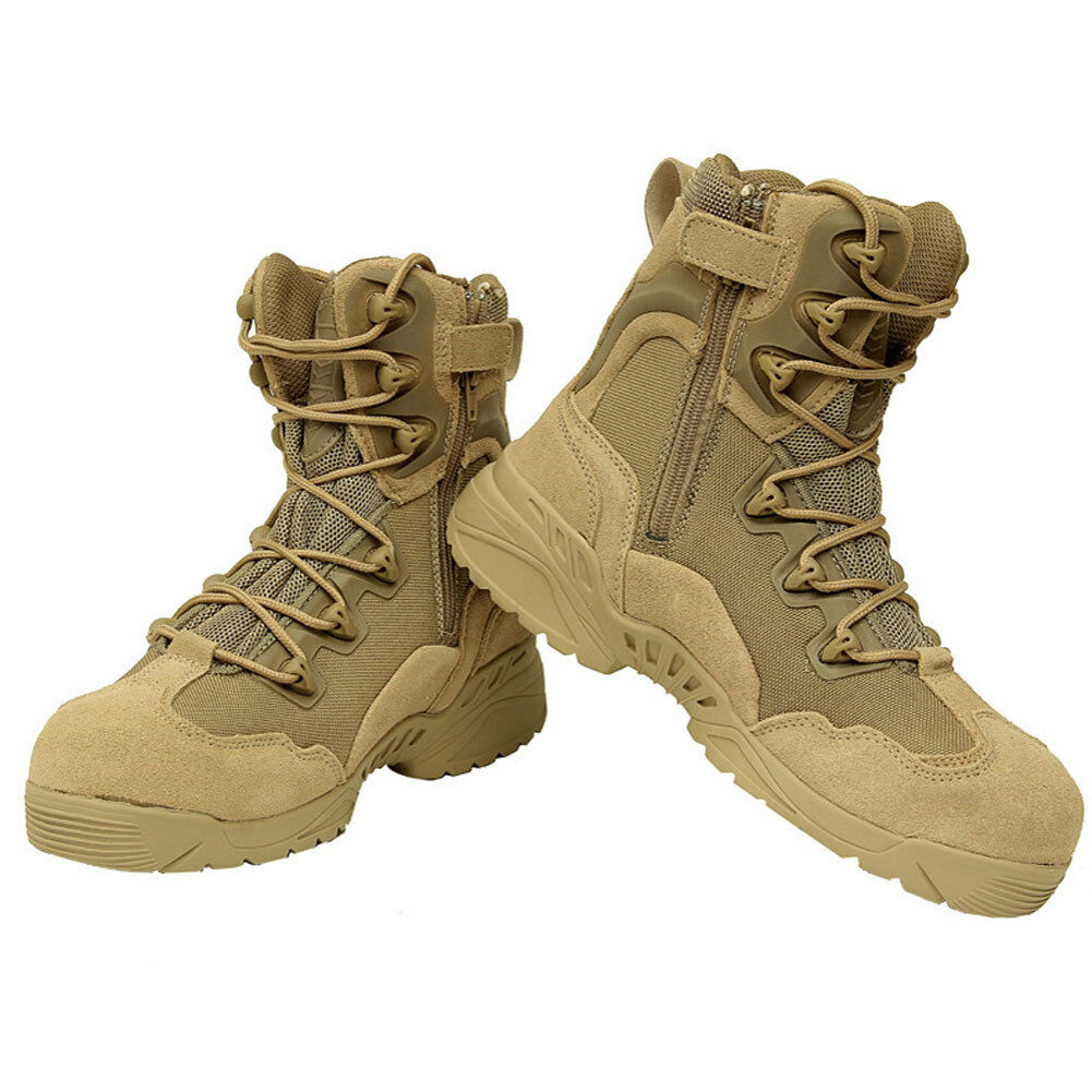 Outdoor Sport Boots Men Army Travel Military Tactical Combat Desert Hiking Shoes