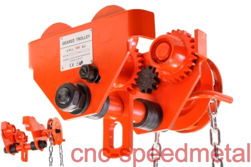 Anschlagblechen schwere Ausführung Haspelkette N 500kg Laufkatze Handfahrwerk m