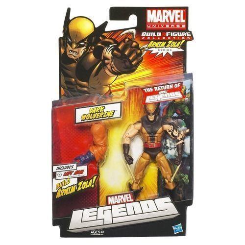 "Arnim Zola Series Marvel Universe Dark Wolverine 6/"" Build a Figure Collection"