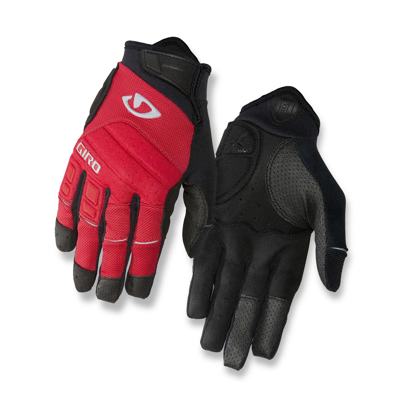 Giro Xen Fahrrad Handschuhe lang rot schwarz 2019