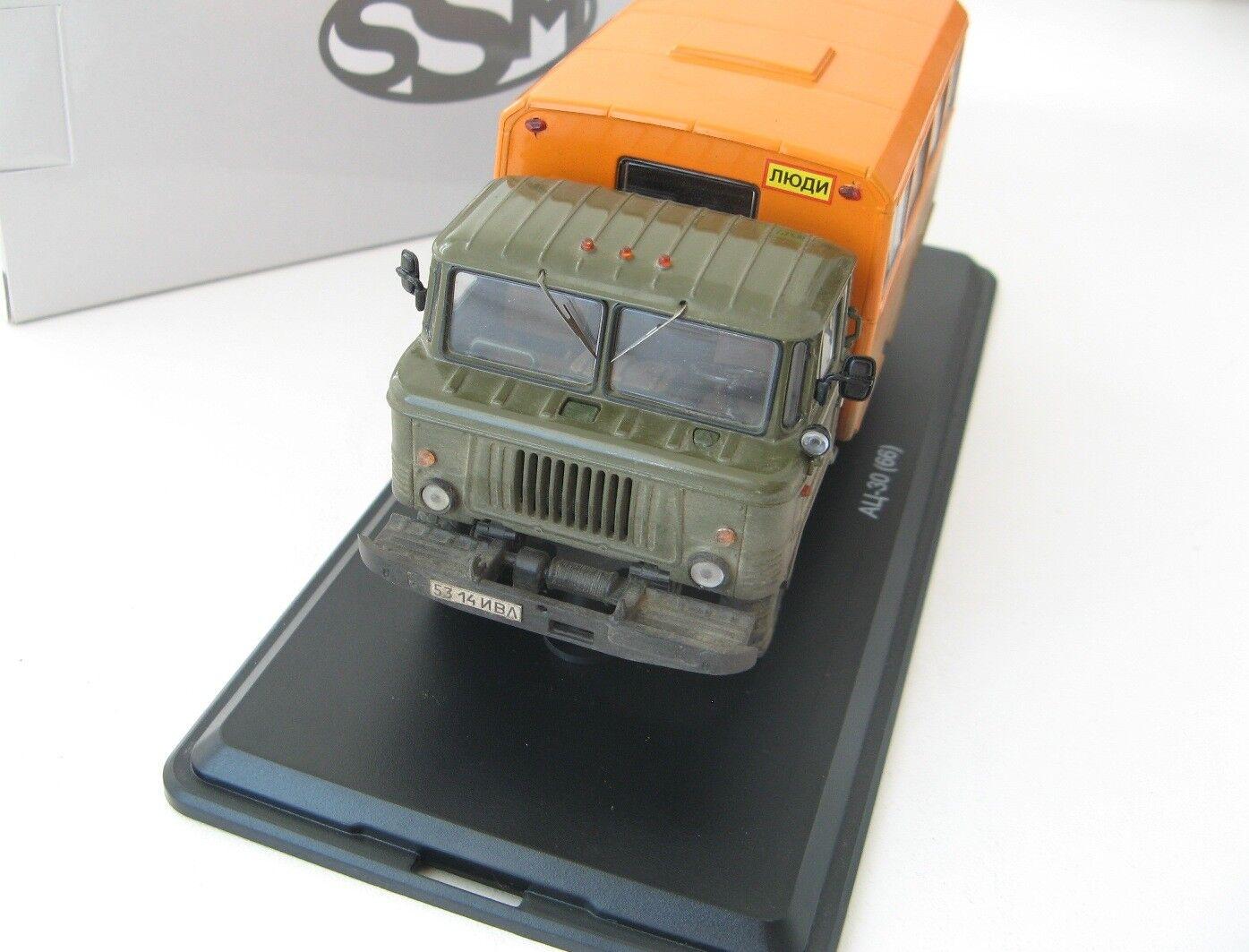 ГАЗ-66 Вахта хаки оранжевый   GAZ-66 GAZ-66 GAZ-66 Nostalgie SSM 1 43 exclusive L.E. 2074a9