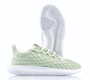 huge selection of 47b28 1c9d1 Detalles de Adidas Tubular Shadow W Blanco Verde Nuevo