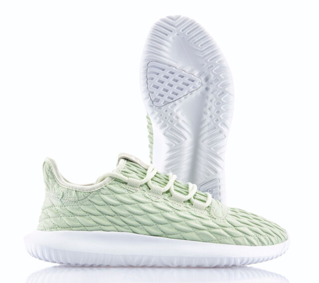 detailed look 8f36c 4653b Adidas Tubular Ombra W Green Bianco Nuovo