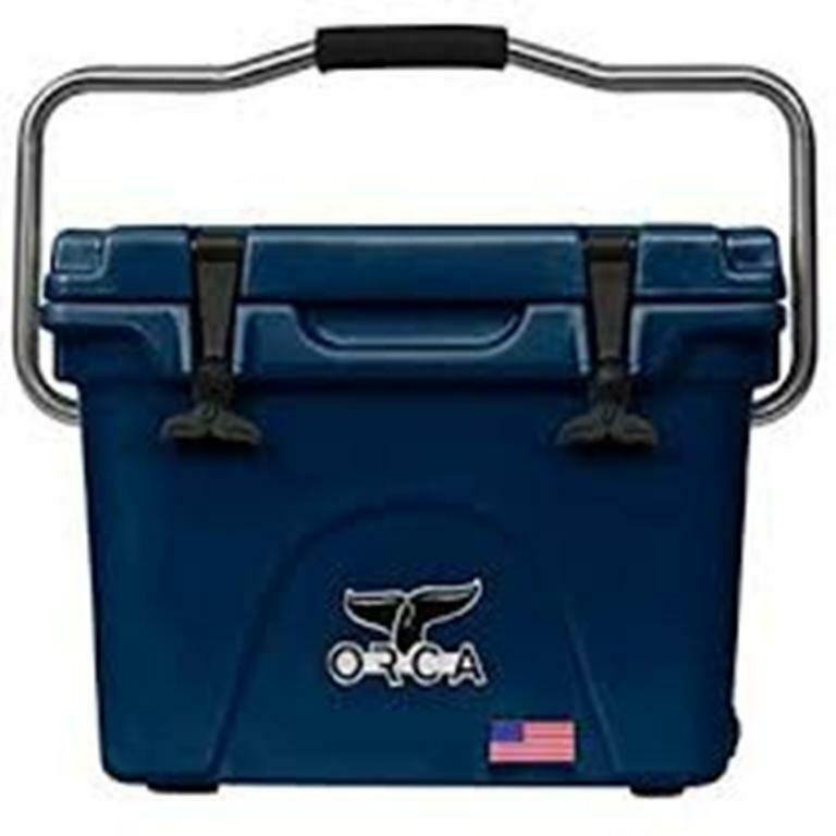 Orca 20QT Azul Marino Refrigerador con garantía de por vida