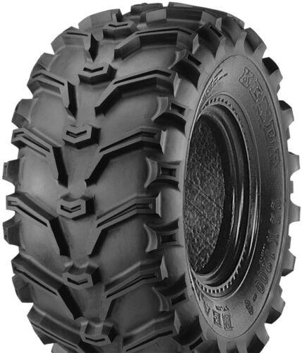 25X8-11 TWO NEW KENDA BEAR CLAW ATV TIRES 6 PLY