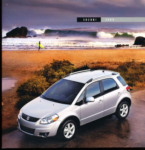 Equator Truck SX4 Grand Vitara 2009 Suzuki 24-page Original Car Sales Brochure