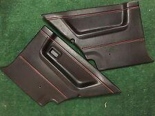 VW Volkswagen MK2 Golf GTI Rear Leather OEM Door Cards Panels